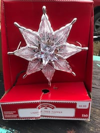 Light up Star tree topper