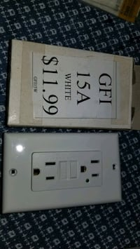 5 New GFI receptacles Hagerstown, 21740