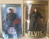 Collectible Elvis Presley action figures/dolls Brandon, 39047