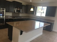white and black wooden kitchen cabinet Citrus Heights, 95610