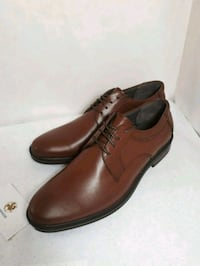 pair of brown leather dress shoes Markham, L3T 4W7
