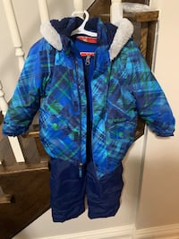Krickets snowsuit.