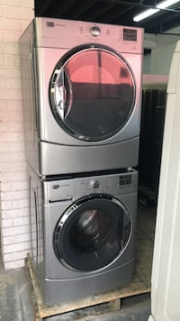 gray front-load clothes washer and dryer set Toronto, M6H 2C5