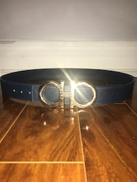 100% authentic blue and gold Salvatore Ferragamo size: 30-38 XL buckle  Toronto, M4C