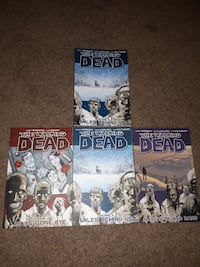 four The Walking Dead cases