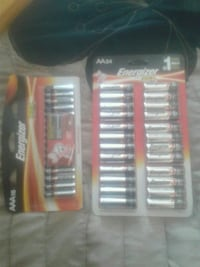 Two large packs of AA and AAA batteries Calgary, T2K 3R8