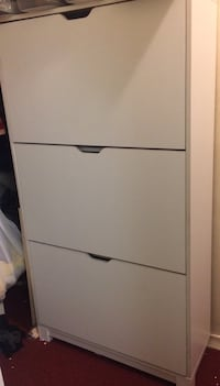 White wooden 2-door wardrobe Toronto, M1L