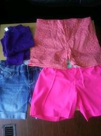 Girl shorts and tights size 6 London, N5V 2C4