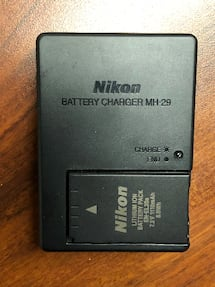 MH-29 Battery and charger P1000 or Nikon 1