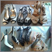 Womens high heels  (3 pairs) size 7.5 Barrie, L4M 5W8