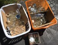 Huge lot of mason jars, all sizes over 25 in total  Northbrook, 60062