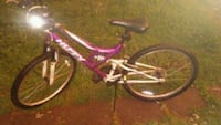 pink and white full-suspension bike Jeffersonville, 47130