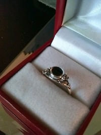 Sterling Silver with Black Oynx Ring  Caseyville, 62232