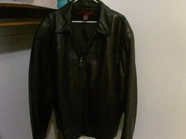 men's leather jacket extra large