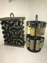 Stainless steel seasoning holder/organizer Manassas, 20110