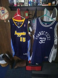 blue and white Los Angeles Lakers jersey Whitehall, 49461