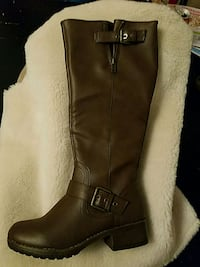 New Kohls size 6 SoHo Brown Knee high boots West Warwick, 02893