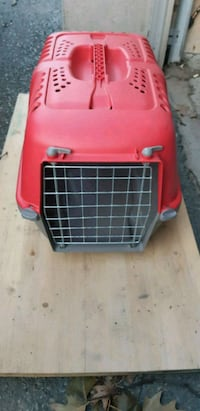 red and black pet carrier Toronto, M4B 1N6