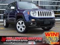 2018 Jeep Renegade Limited--> One Owner --> Non-Smoking !! Guelph