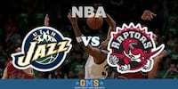 Raptors vs. Utah Jazz, January 1 – Lower Bowl, Aisle Toronto