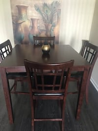 Dinning table with 4 chairs Herndon, 20170