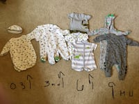 Baby boy Dinosaurs!! Size 0-9 months Springfield, 22015