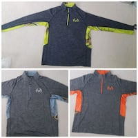 3 activewear long sleeve shirts Temple City