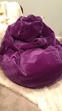 Purple velvet beanbag chair Ballwin, 63021