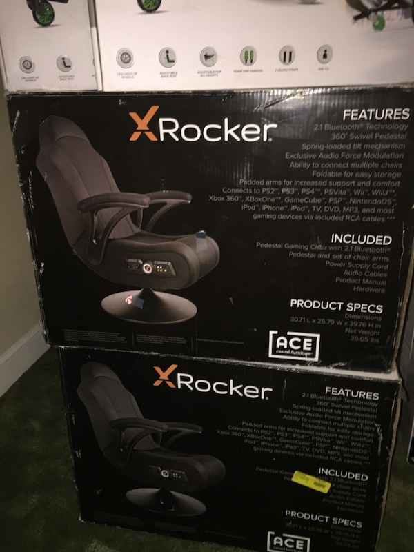 Marvelous Two X Rocker Gaming Chair Boxes Inzonedesignstudio Interior Chair Design Inzonedesignstudiocom