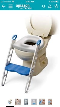 """Training potty seat. """"Mommy's Helper Contoured Cushie Step Up"""""""