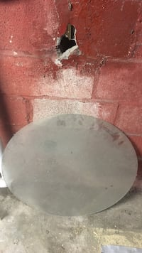 Round glass for table top Zanesville, 43701
