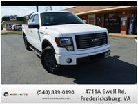 2012 Ford F-150 FX4 4x4 SuperCab 145-in Spotsylvania