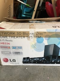Network 3d blu-ray disc home theater system box