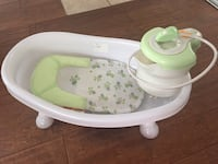 baby's white and green bather Mississauga, L5M 8C8
