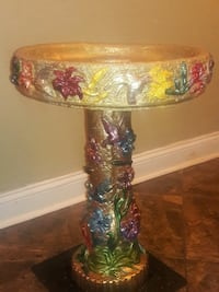 Bird Bath Hand Painted and crafted! Jacksonville, 32225