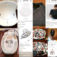 Assorted New, Like New and EUC Baby Items