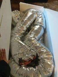 Indoor insulated air duct