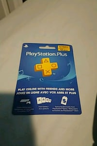 12 mouth PlayStation plus card Red Deer, T4P 3M2