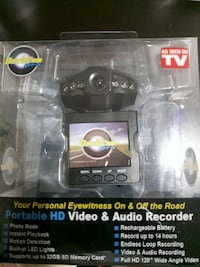 Portable HD Video and Audio Recorder