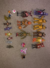 Five Nights at Freddy's Figurines