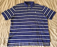 Polo Golf Ralph Lauren Blue Yellow White Striped Polo Rugby Shirt Mens Size XL Tempe, 85281