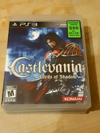 PS3 Castlevania game Burlington, L7M 4T2