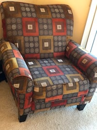 Red & Brown Chair