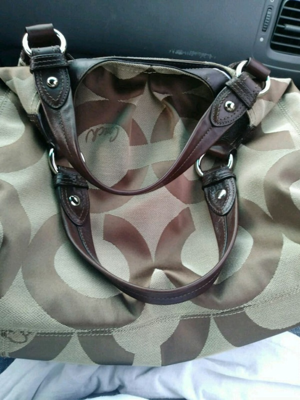 Coach purse asking 80 dollars obo