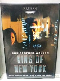 King of New York dvd