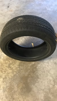 black car wheel with tire Green Bay, 54304