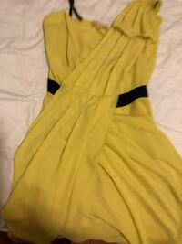 yellow and black sleeveless dress New York, 11223