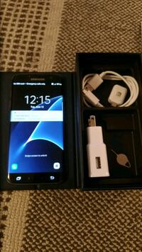 black Samsung Galaxy S7 Edge with box Mississauga, L5C 4H8