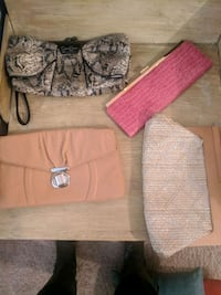 4 Designer Clutches All $10 each Ridgeland, 39157