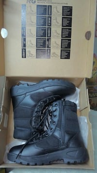 Women's size 9 tactical boots Rochester, 98579